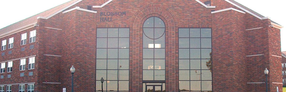 Malone-University-Blossom-Hall-Entrance